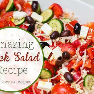 Stephanie's Greek Salad