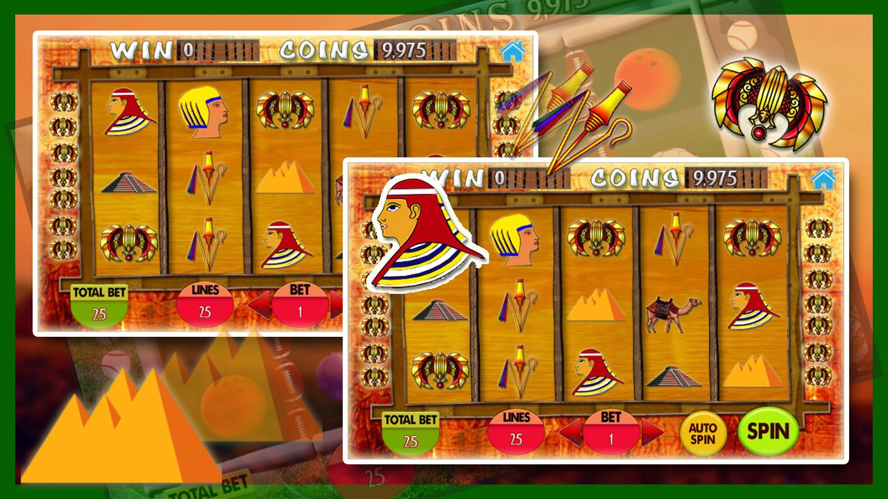 Pyramid slot machine games