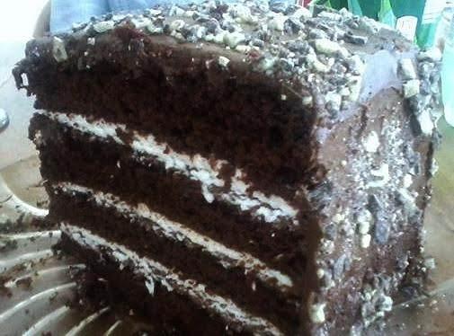 Peppermint Patty Cake Recipe