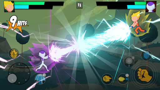 Super Dragon Stickman Battle - Warriors Fight screenshots 11