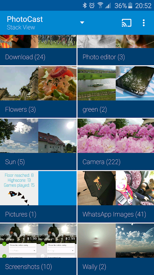 PhotoCast for Chromecast- screenshot