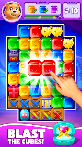 Jewel Match Blast - Classic Puzzle Games 2019 screenshots 1