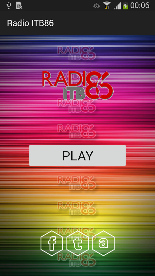 Radio ITB86- screenshot