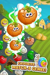 Funny Farm match 3 game APK screenshot thumbnail 1