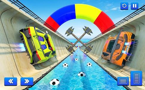 Water Surfing Car Stunts 3