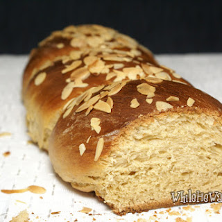 Greek Easter Sweet Twisted Bread