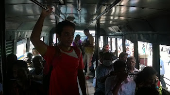 Bus ride in TVM
