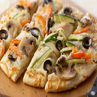 Veggie Party Pizza