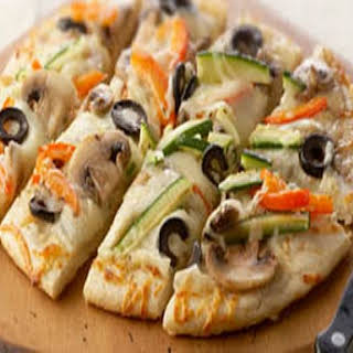Veggie Party Pizza.