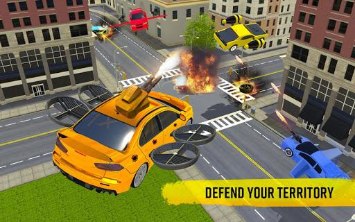 Flying Car Shooting Game: Modern Car Games 2020 screenshots 9