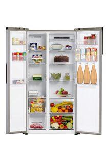 Haier 565 L Inverter side-by-side Door Refrigerator (HRF 619 SS)