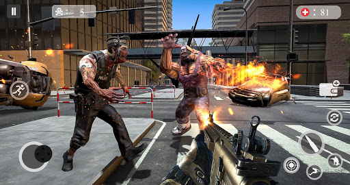 Zombie Attack Games 2019 - Zombie Crime City screenshots 4
