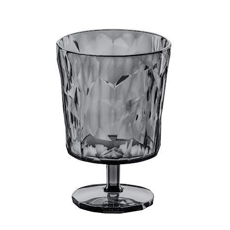 CLUB S, Goblet Glas, Transparent Antracit 8-pack