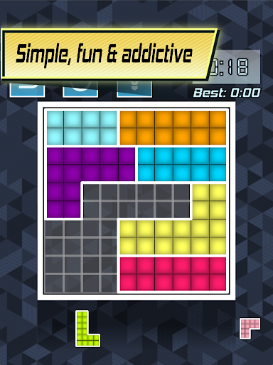 Color Fill 2 - Tangram Blocks - screenshot