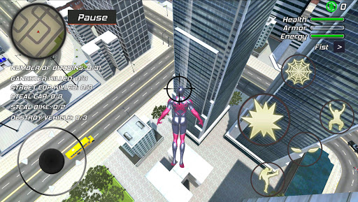 Amazing Strange Rope Hero - Strange Spider Vegas - screenshot