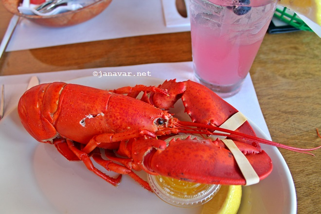 Travel: Rockport, MA - Roy Moore's Lobster Fish Shack - Lobster