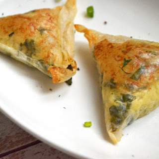 Gluten-free Vegan Samosa, Two Ways.