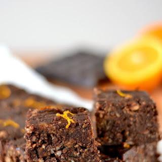 Chocolate Orange Larabar Bites.