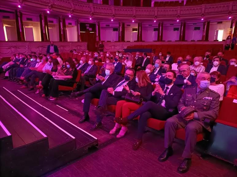 Público asistente a la gala de los IV Premios del Deporte.