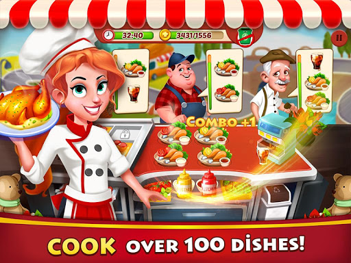 Cooking Grace - A Fun Kitchen Game for World Chefs - screenshot