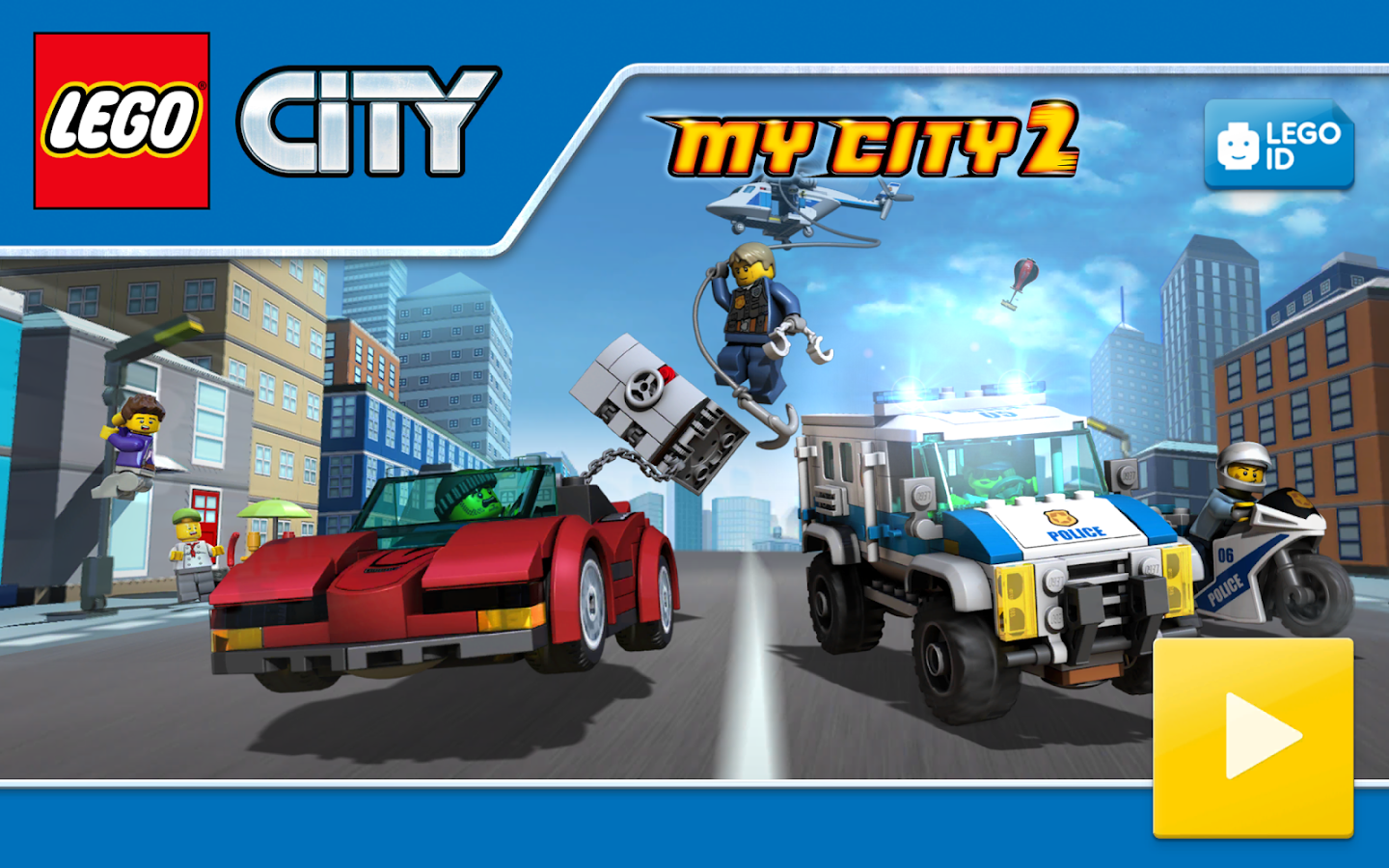 LEGO City My City 2 Build Chase Cars And Fun Android Apps On