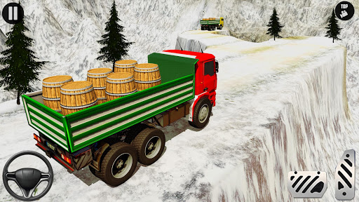 3D Euro Truck Driving Simulator - Real Cargo Game screenshots 7