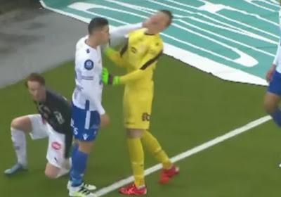 Un joueur prêté par Gand s'en prend violemment à son gardien