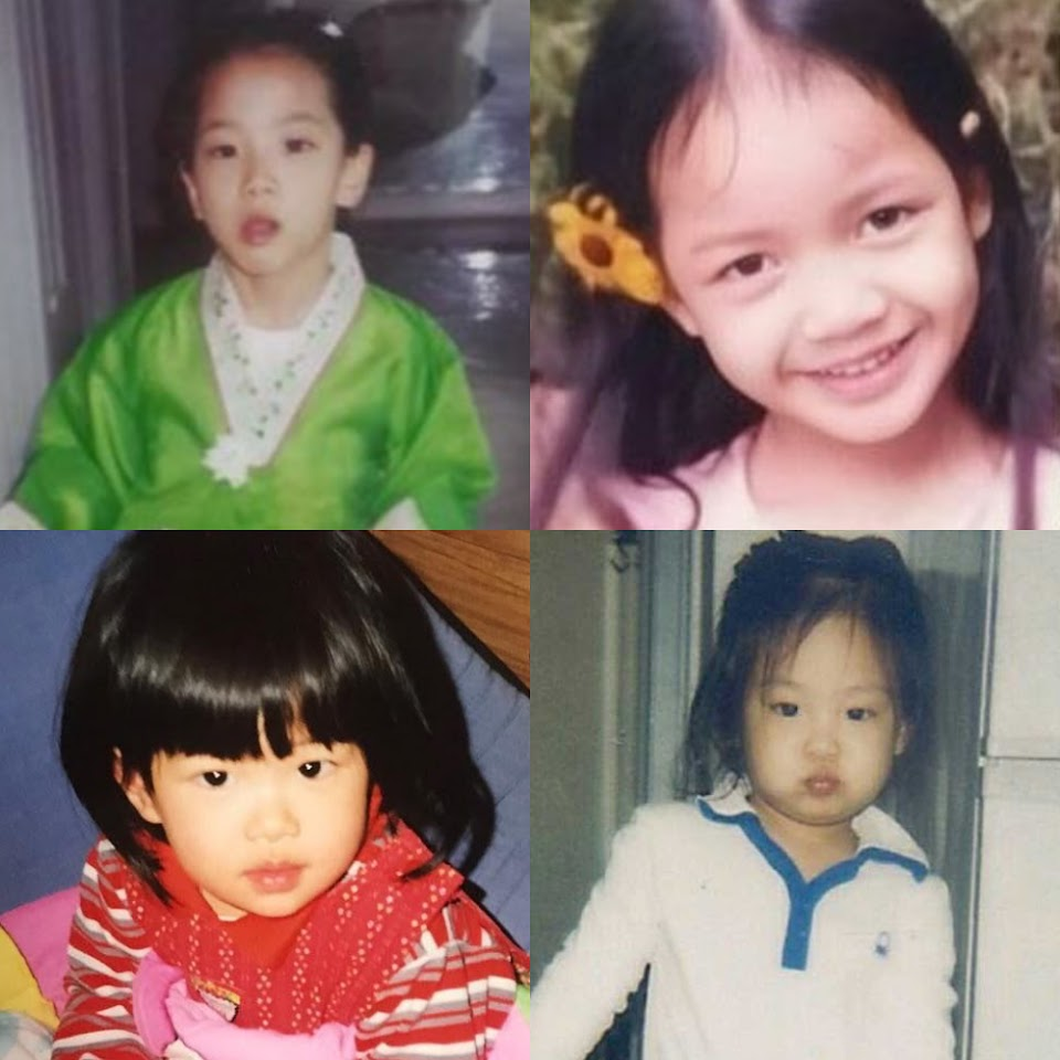 blackpink baby photos