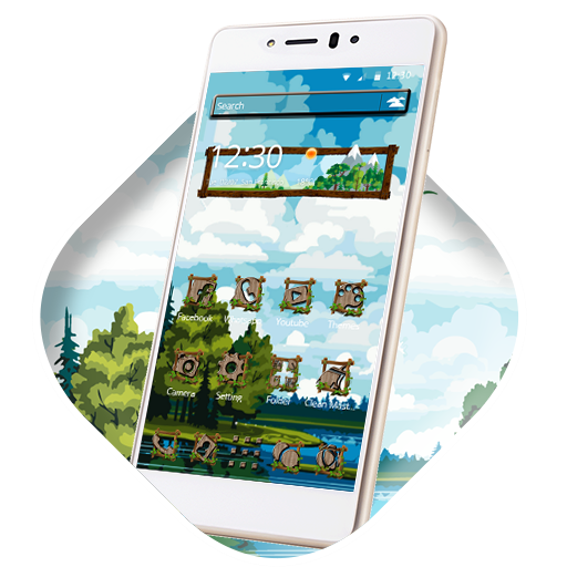 Blue Sky Nature Launcher
