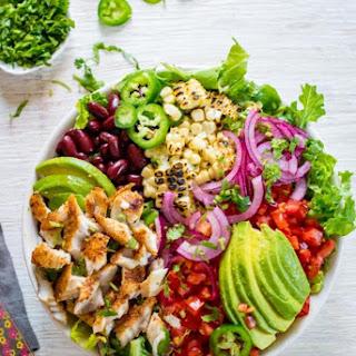 Blackened Fish Taco Salad.