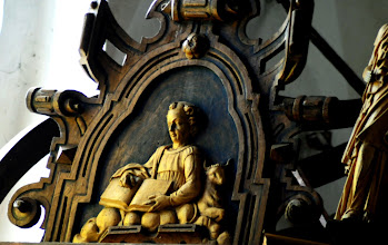 Photo: Schnitzerei in der Kirche Neustadt-Glewe