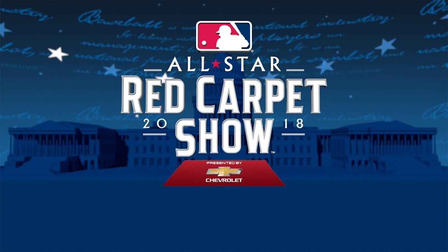 Watch MLB All-Star Red Carpet Show live