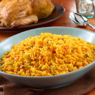 Yellow Rice - Arroz Amarillo.
