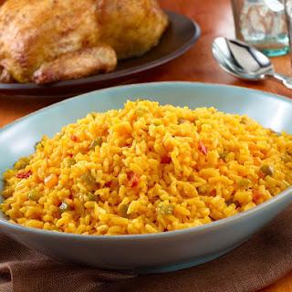 Yellow Rice - Arroz Amarillo.
