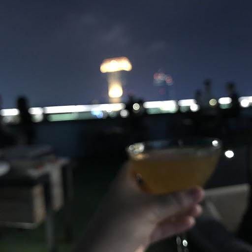 Nice view with nice drinks