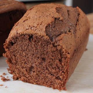 Diet Nutella cake.