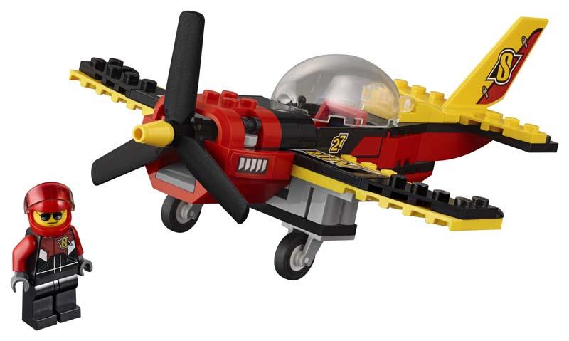 Contenido de Lego® 60144  Avión de Carreras