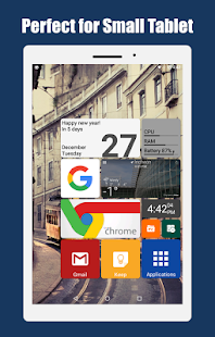 Square Home 3 - Launcher : Windows style Screenshot