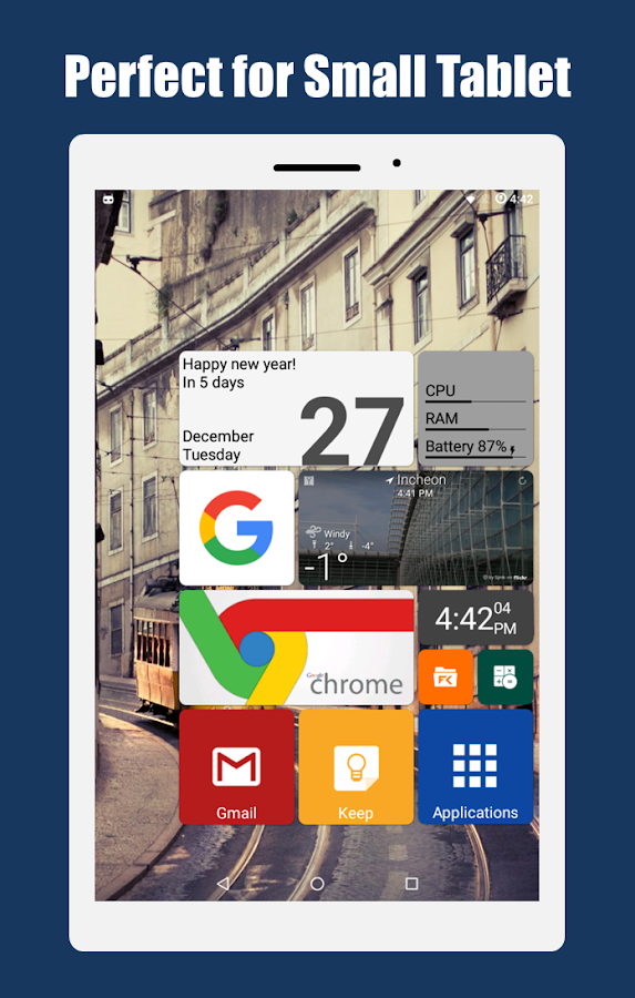 SquareHome 2 - Launcher: Windows style- screenshot