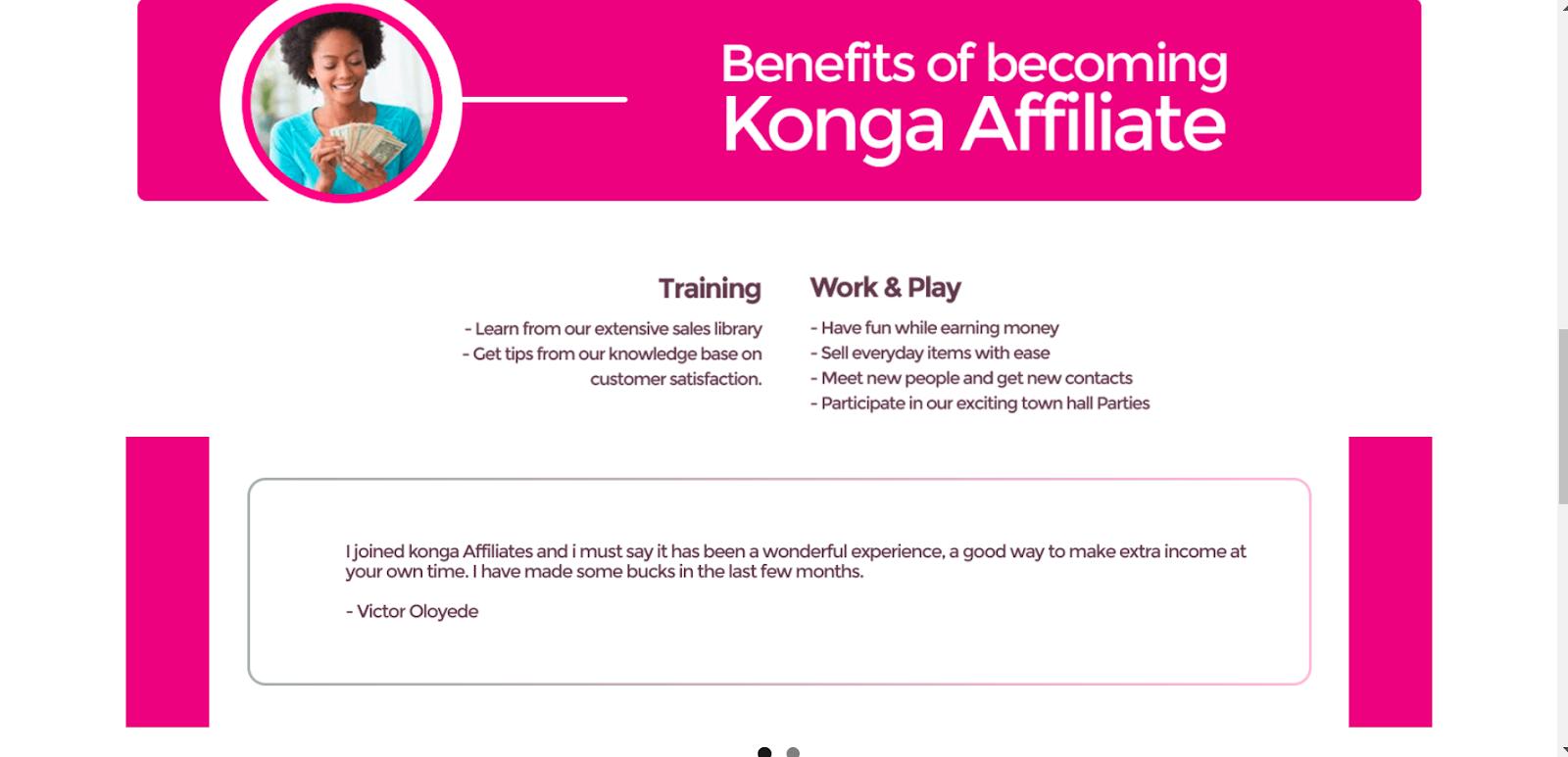 join Konga Affiliate Marketing Program in Nigeria 2021