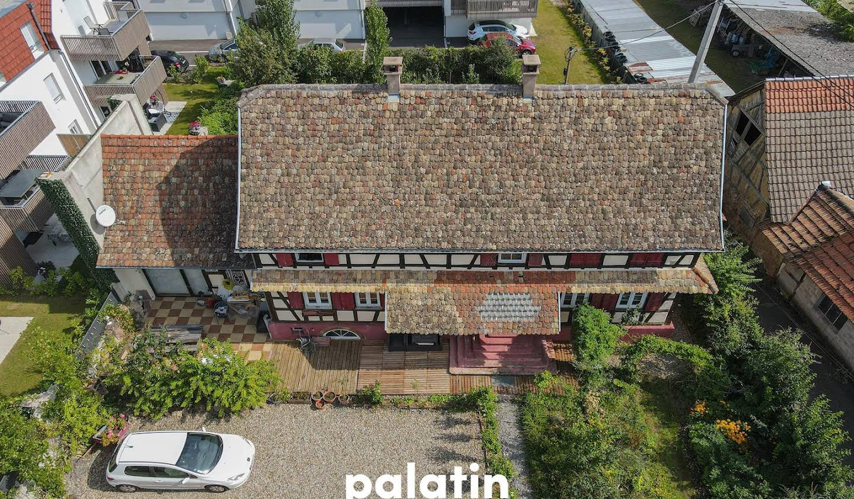 Maison avec terrasse Blaesheim