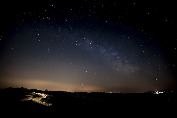 Milky way.....Sere d'estate di gabrielecollini