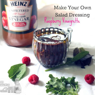 Make Your Own Salad Dressing - Raspberry Vinaigrette.