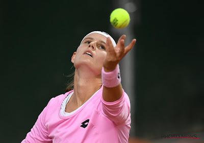 Greet Minnen verloor in drie sets van de Tsjechische Krejcíková
