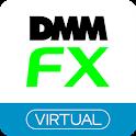 DMM FX バーチャル - 初心者向けFX体験アプリ icon