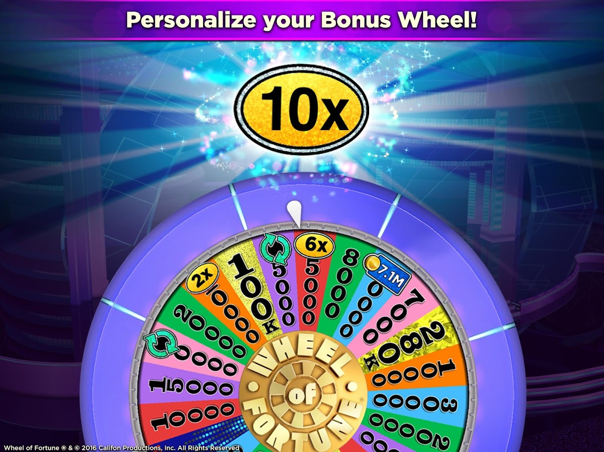 wheel of fortune casino slot game