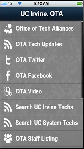 【免費教育App】UCI OTA-APP點子