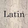 Common Latin Words