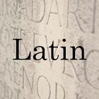 Common Latin Words icon