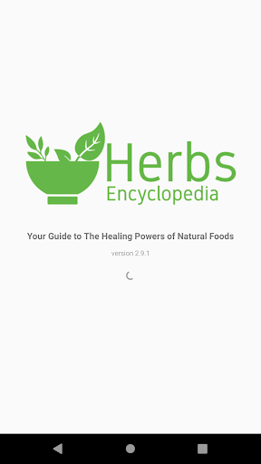 Herbs Encyclopedia screenshot for Android